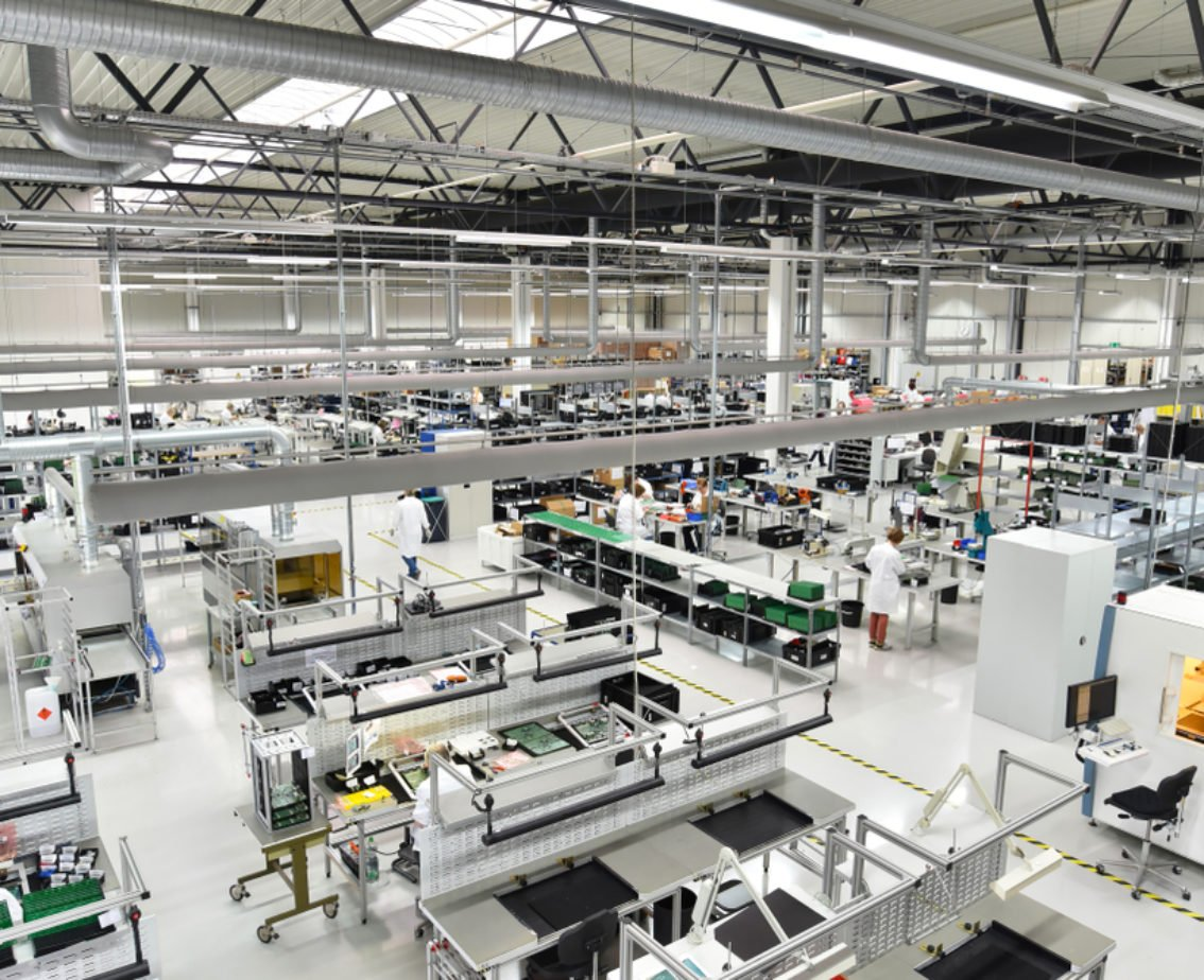 Onshoring electronic contract manufacturing
